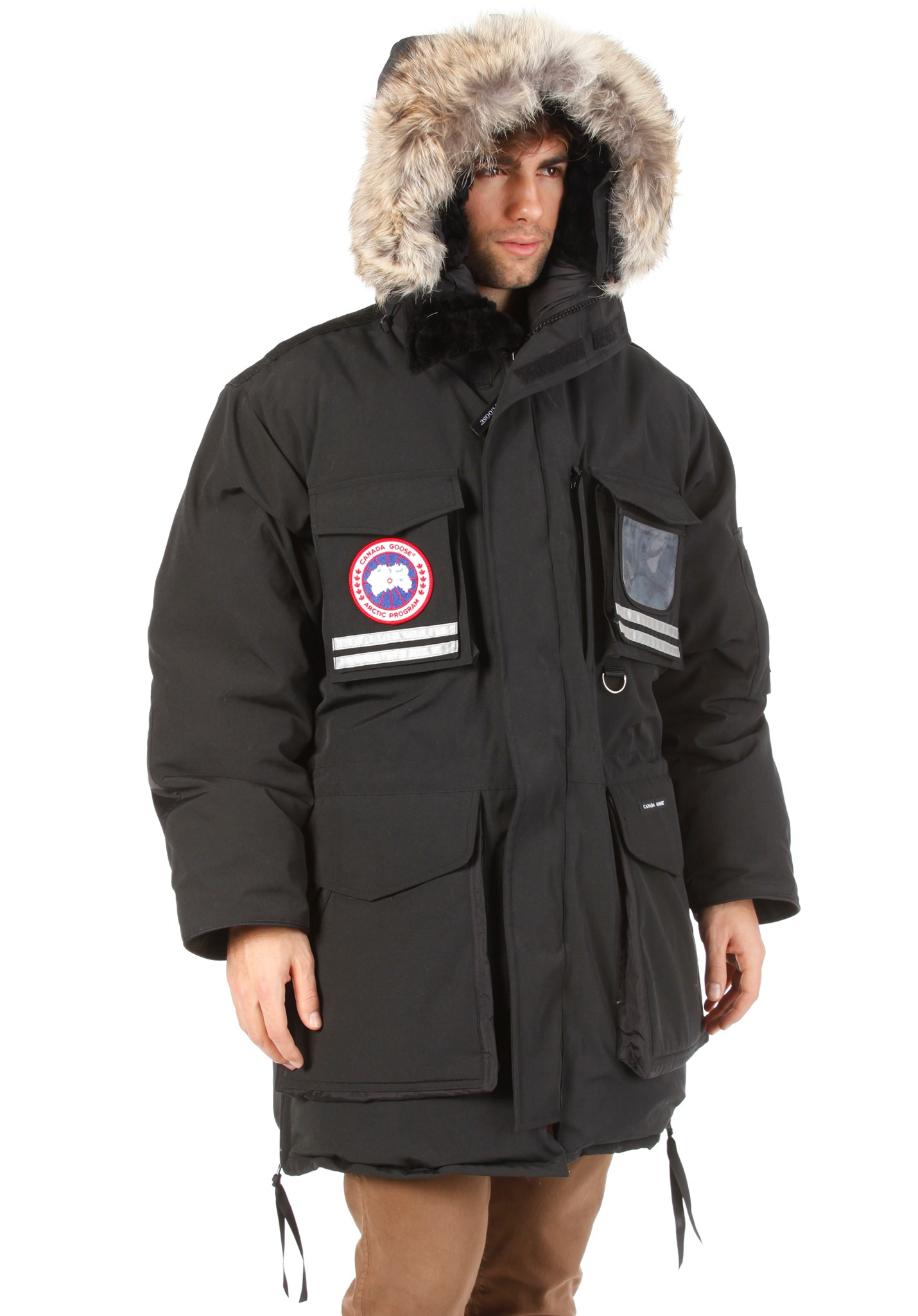 neu canada goose snow mantra parka jacket herren funktionsjacke ebay. Black Bedroom Furniture Sets. Home Design Ideas