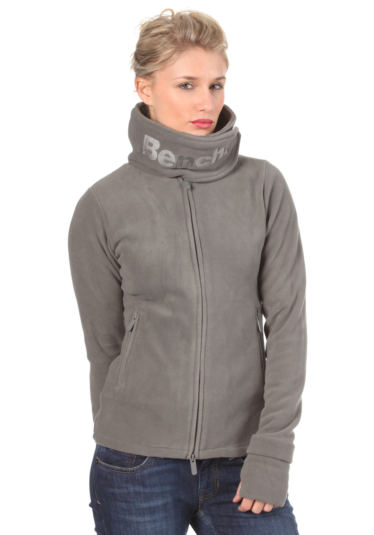 neu bench funnel neck fleece sweat damen sweatshirt ebay. Black Bedroom Furniture Sets. Home Design Ideas