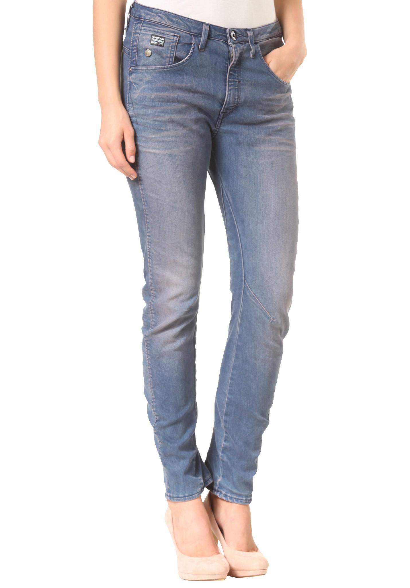 neu g star arc 3d tapered coj damen jeans hose ebay. Black Bedroom Furniture Sets. Home Design Ideas
