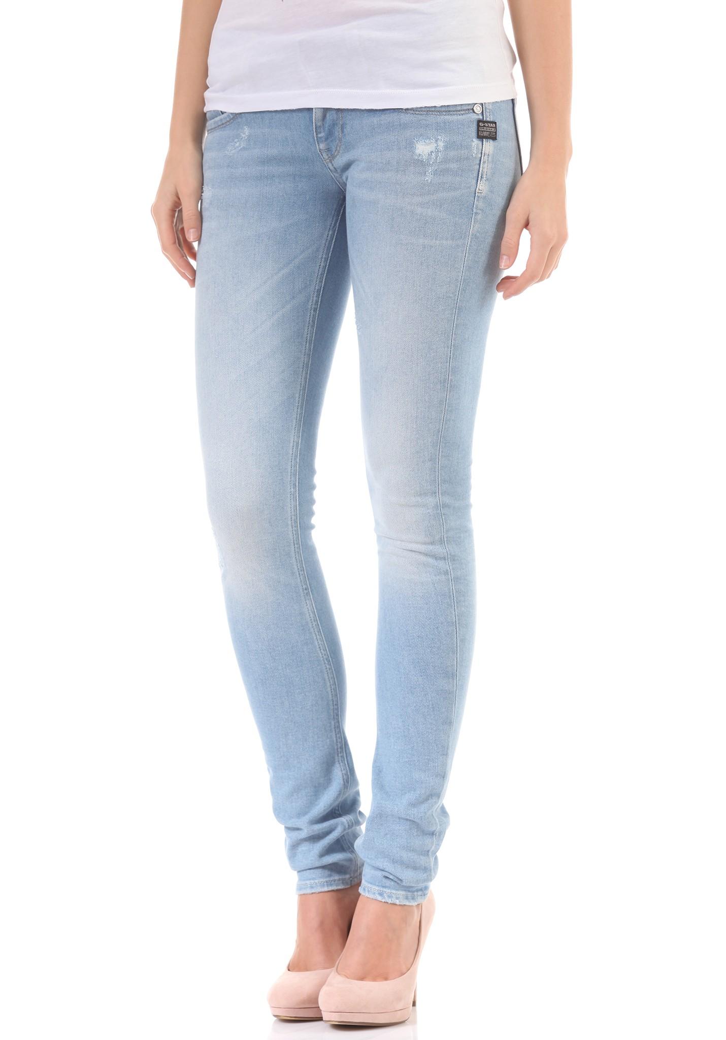 neu g star lynn skinny damen jeans hose ebay. Black Bedroom Furniture Sets. Home Design Ideas