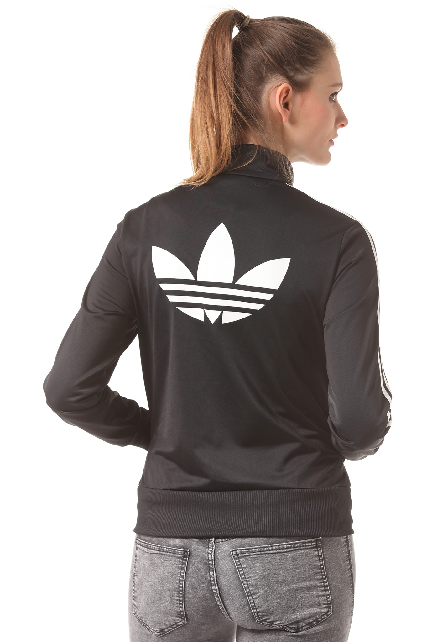 neu adidas firebird tracktop damen sweatjacke jacke ebay. Black Bedroom Furniture Sets. Home Design Ideas