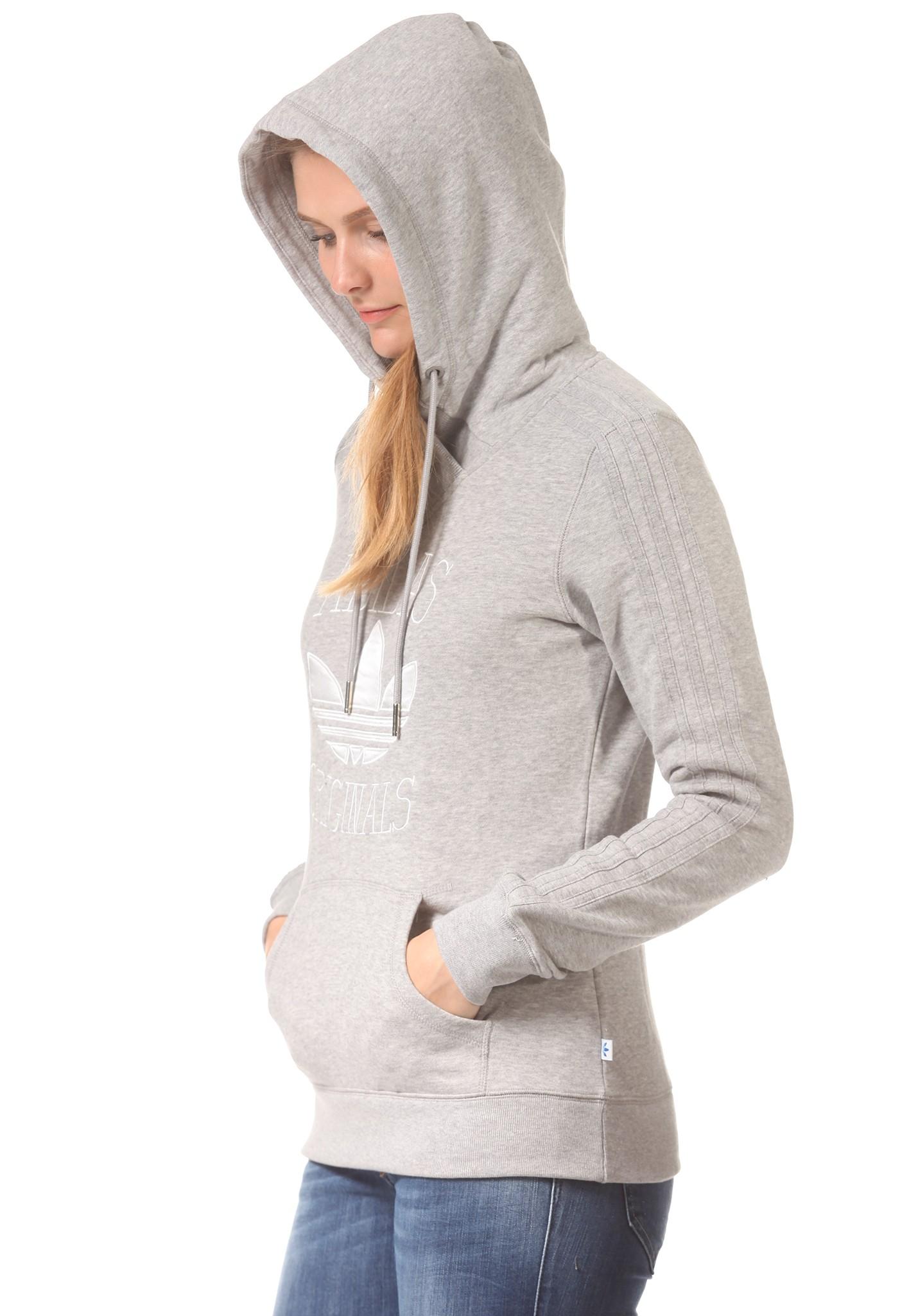 neu adidas slim damen kapuzenpullover pullover hoodie kapuzenjacke ebay. Black Bedroom Furniture Sets. Home Design Ideas