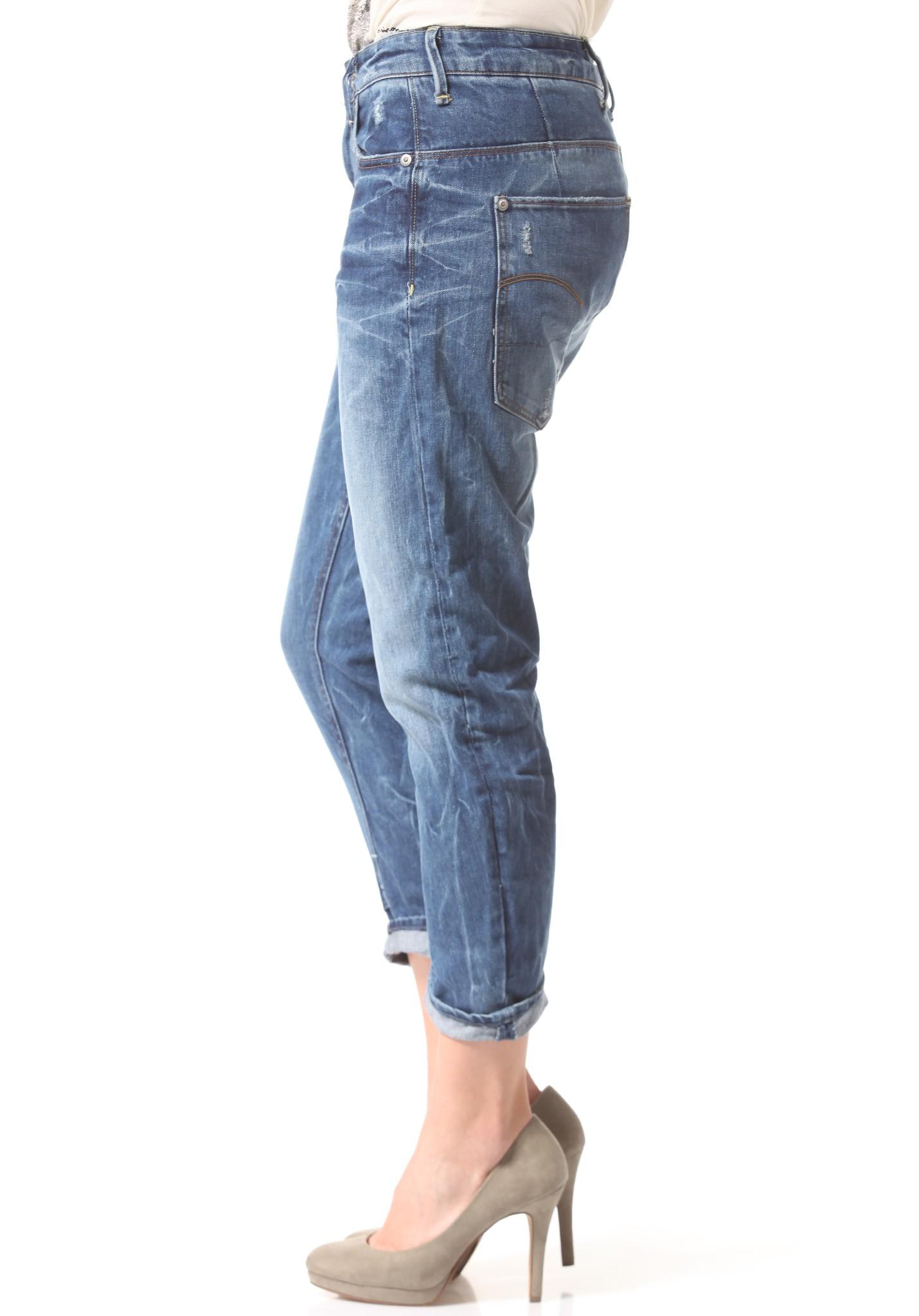neu g star type c 3d loose tapered damen jeans hose ebay. Black Bedroom Furniture Sets. Home Design Ideas