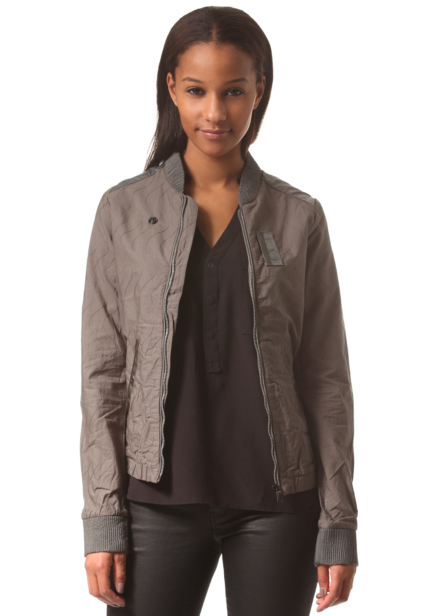 neu g star bomber stitch overshirt damen jacke ebay. Black Bedroom Furniture Sets. Home Design Ideas