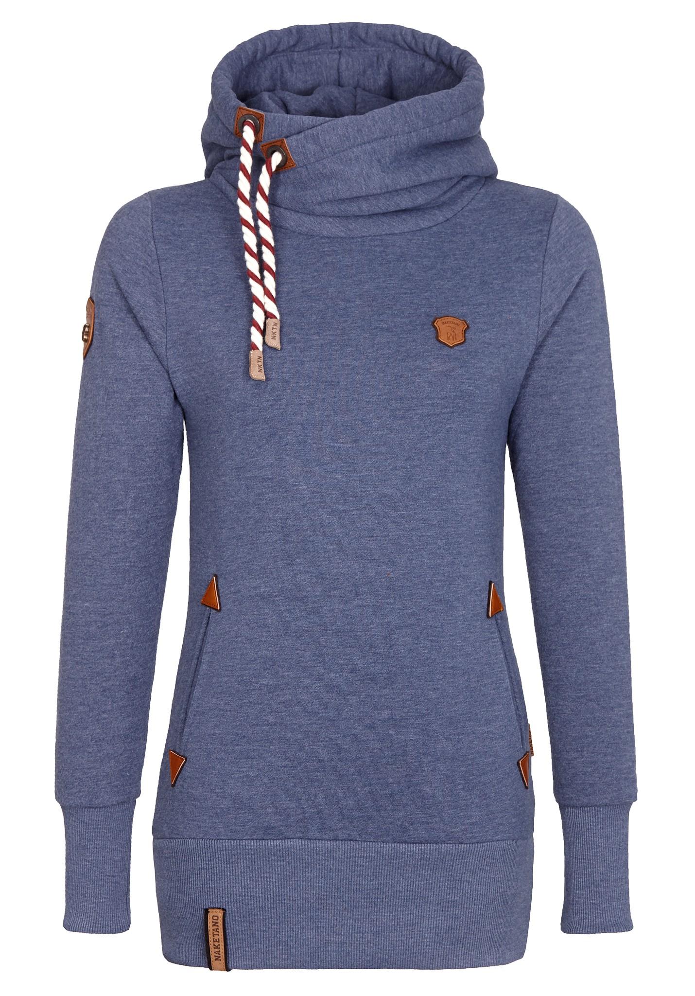 Neu naketano darth long iv damen kapuzenpullover pullover hoodie