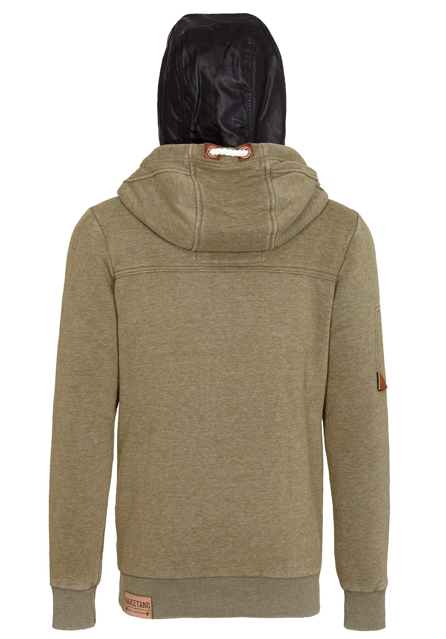 neu naketano der bumser ii herren kapuzenpullover pullover hoodie kapuzenjacke ebay. Black Bedroom Furniture Sets. Home Design Ideas