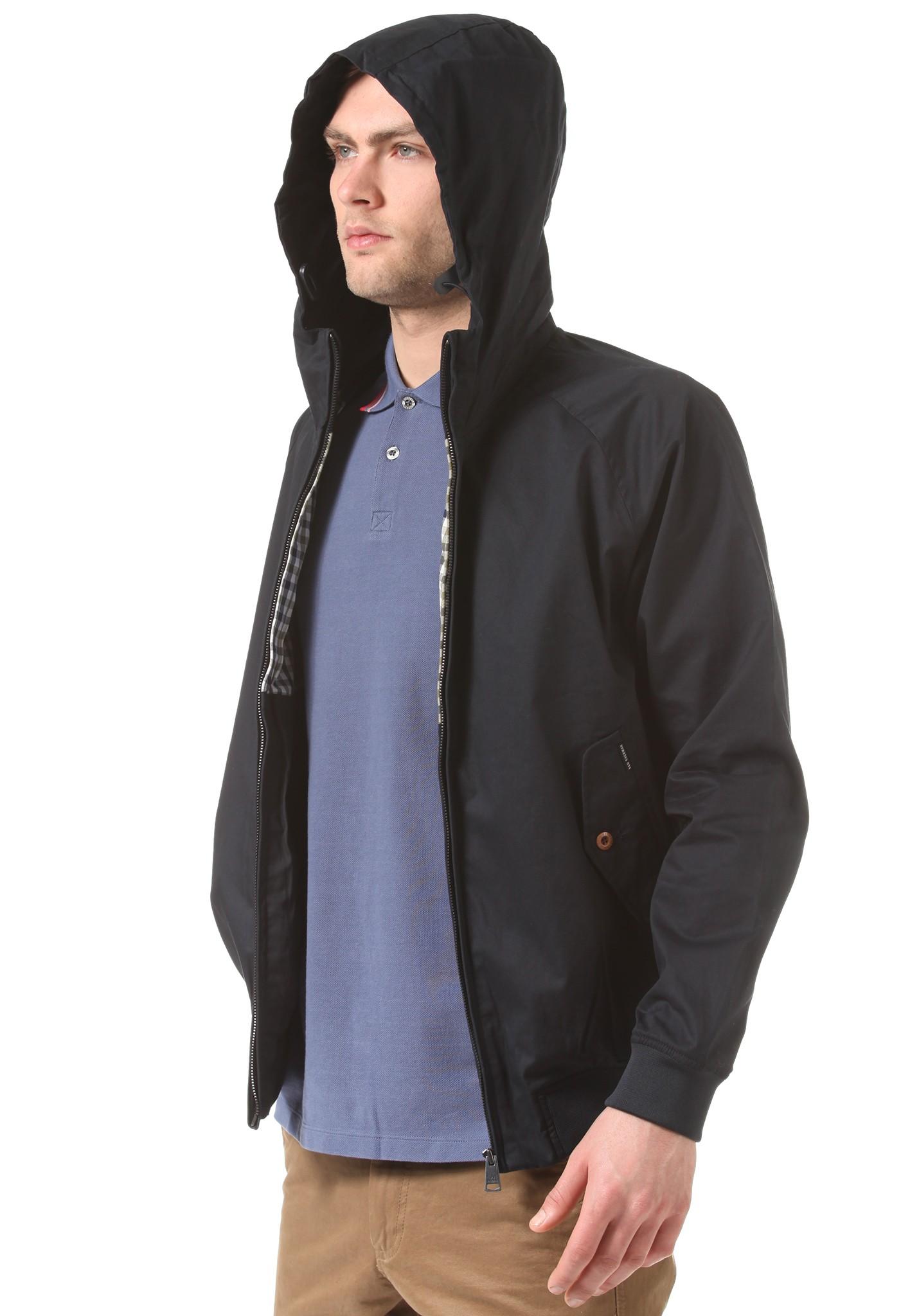 neu ben sherman harrington hooded jacket herren jacke ebay. Black Bedroom Furniture Sets. Home Design Ideas