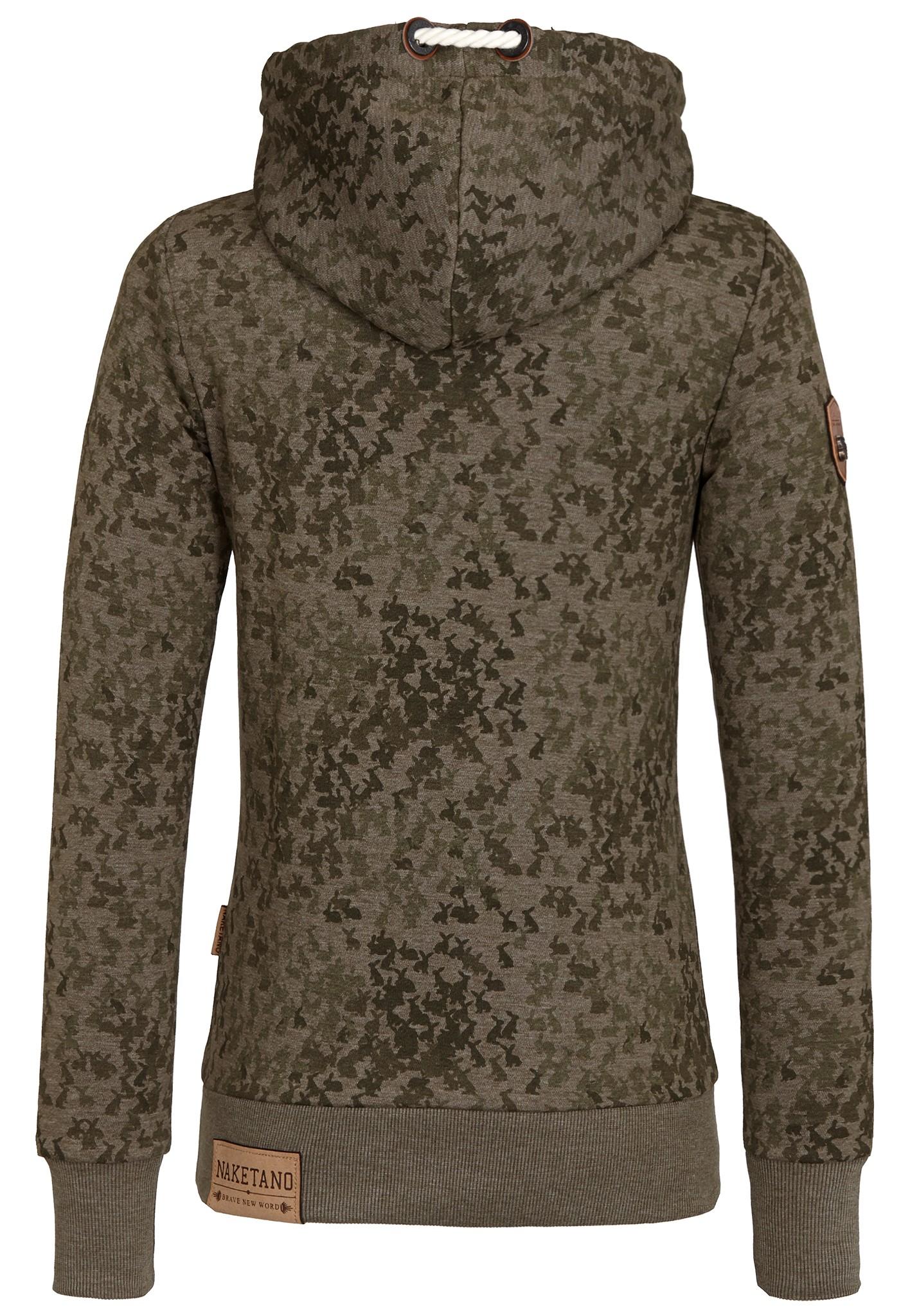 neu naketano darth hase ii damen kapuzenpullover pullover hoodie kapuzenjacke ebay. Black Bedroom Furniture Sets. Home Design Ideas