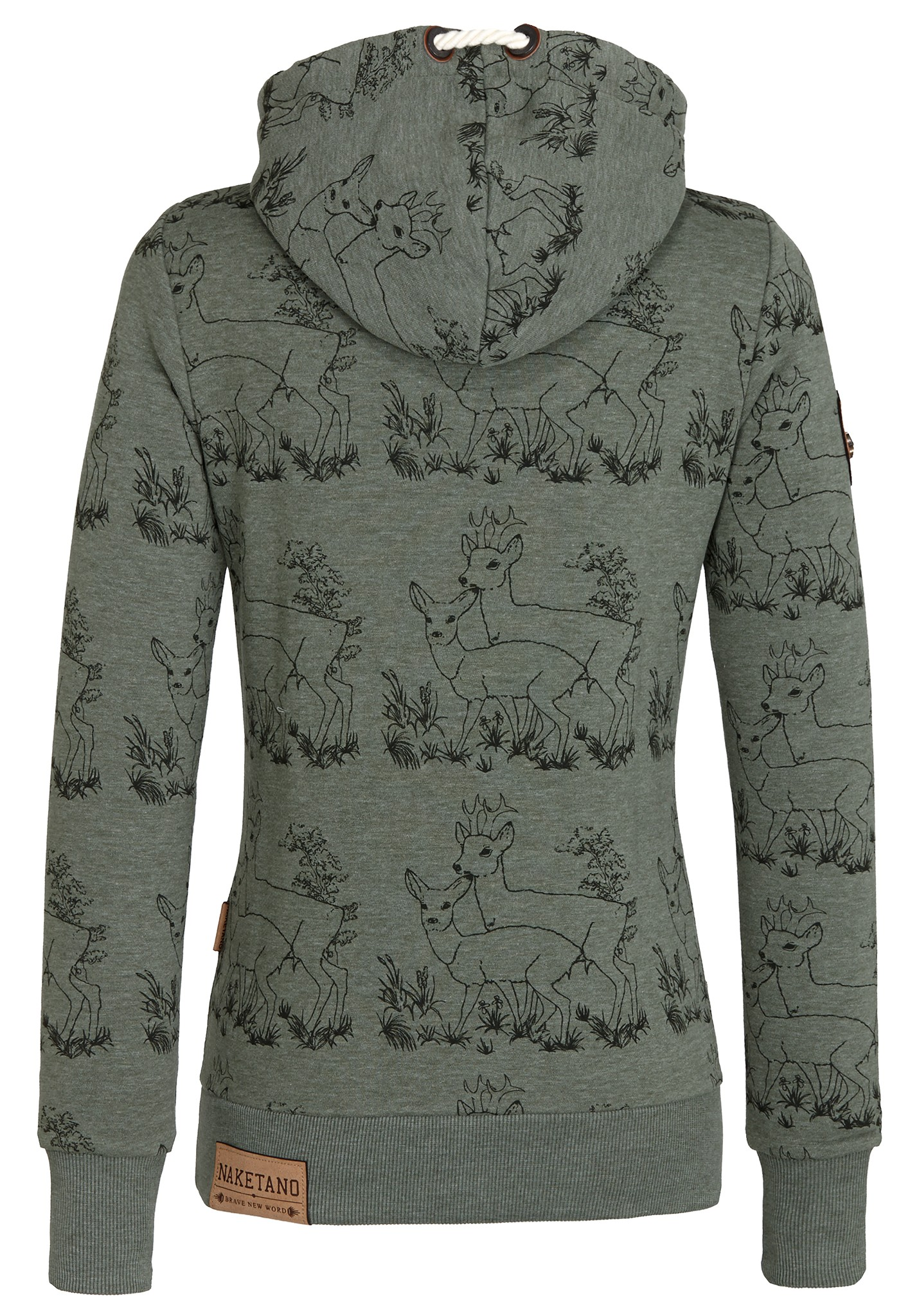 neu naketano darth im spessart iii damen kapuzenpullover pullover hoodie ebay. Black Bedroom Furniture Sets. Home Design Ideas