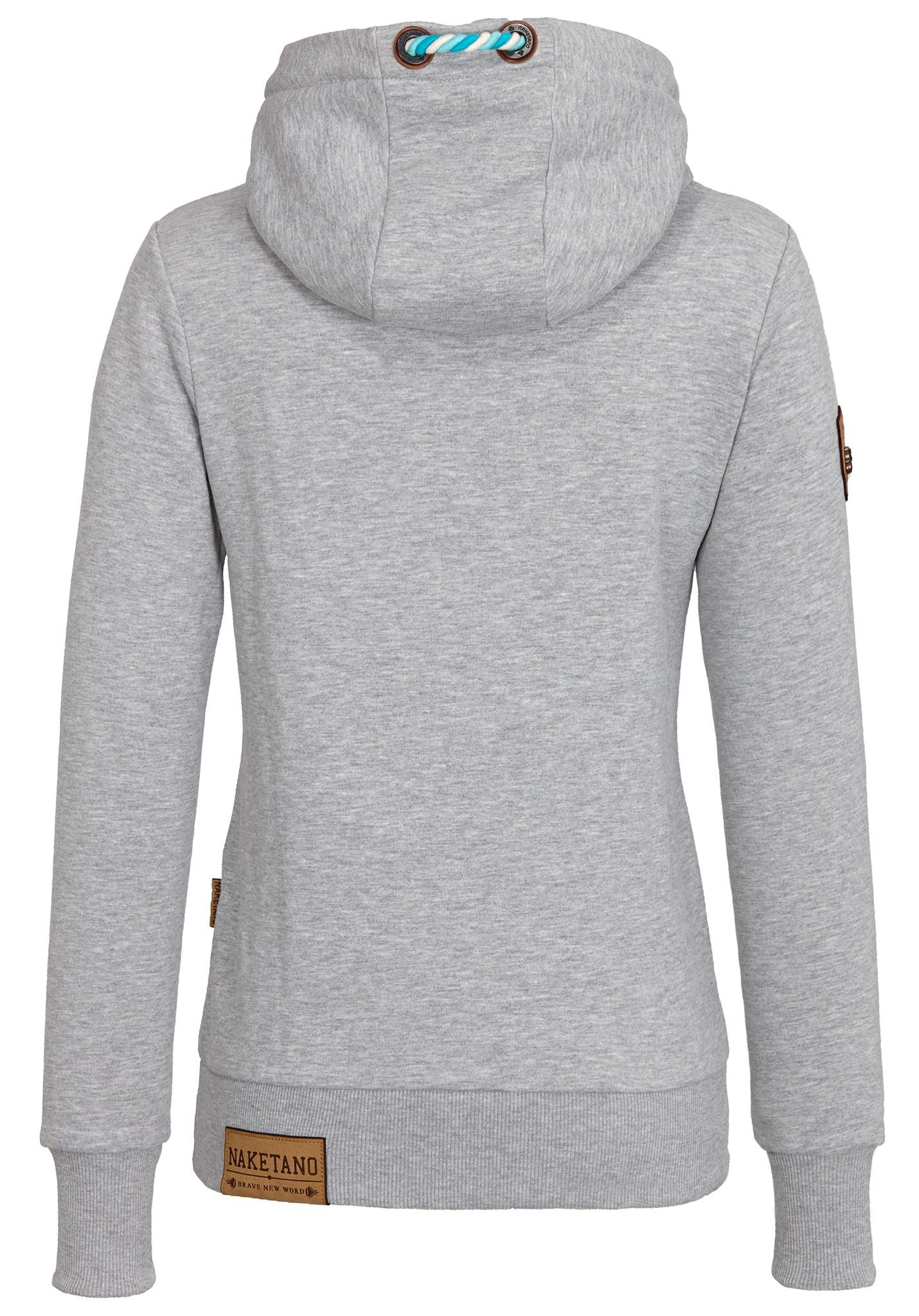 neu naketano schmierlappen jeck damen kapuzenpullover pullover hoodie ebay. Black Bedroom Furniture Sets. Home Design Ideas