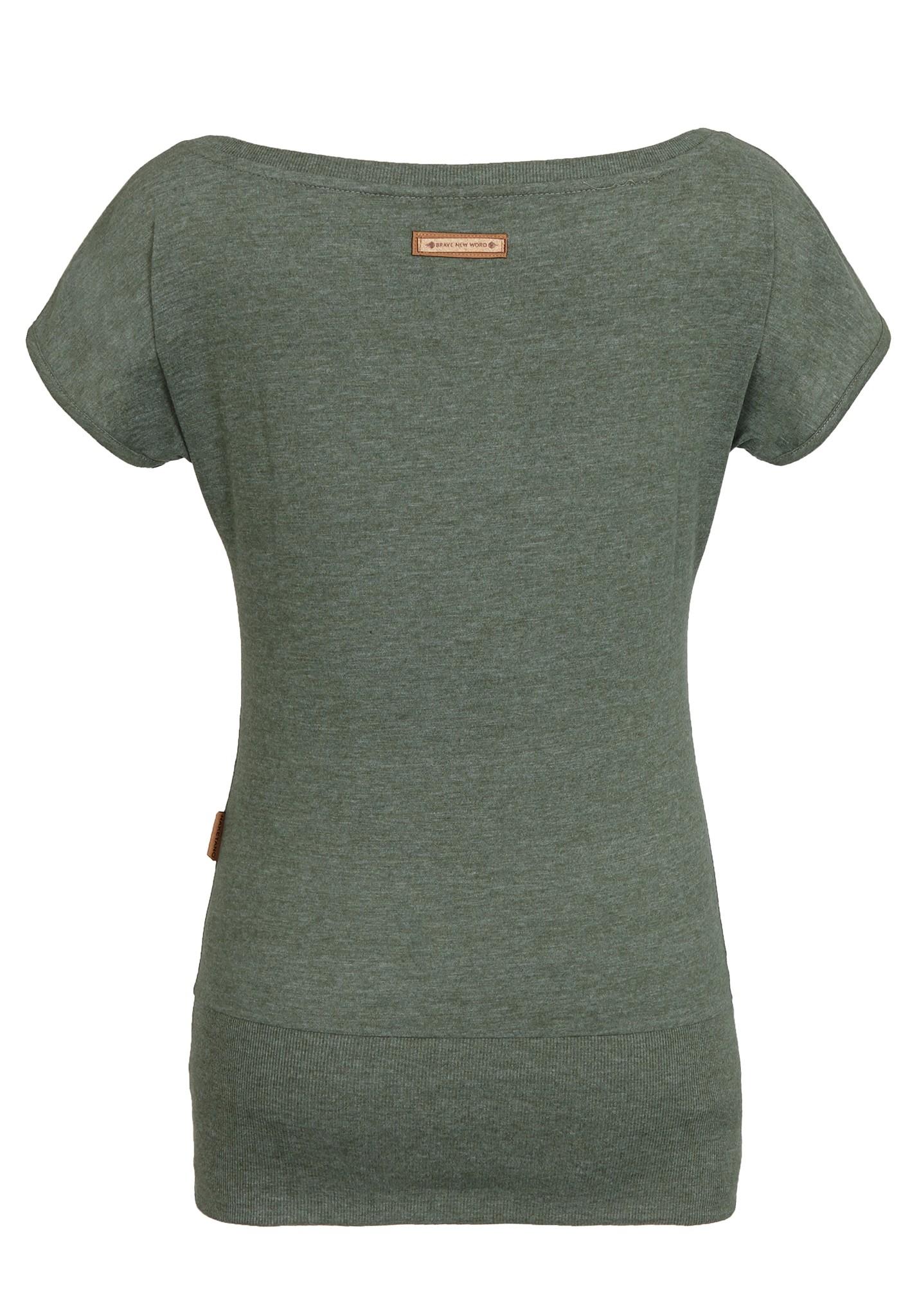 neu naketano wolle v damen t shirt shirt ebay. Black Bedroom Furniture Sets. Home Design Ideas