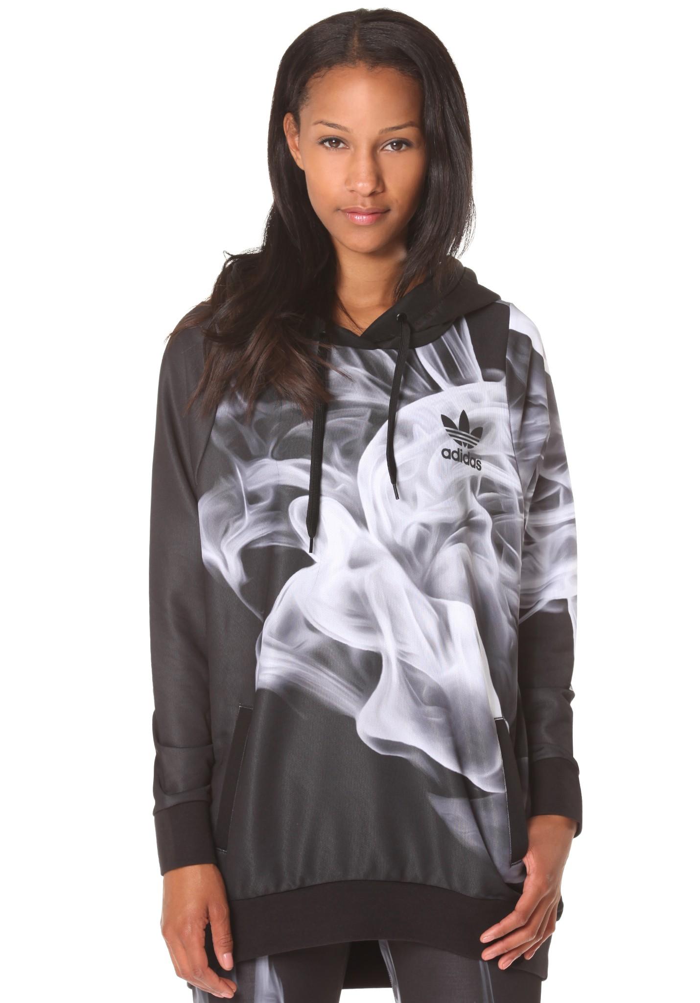 neu adidas smoke damen kapuzenpullover pullover hoodie. Black Bedroom Furniture Sets. Home Design Ideas