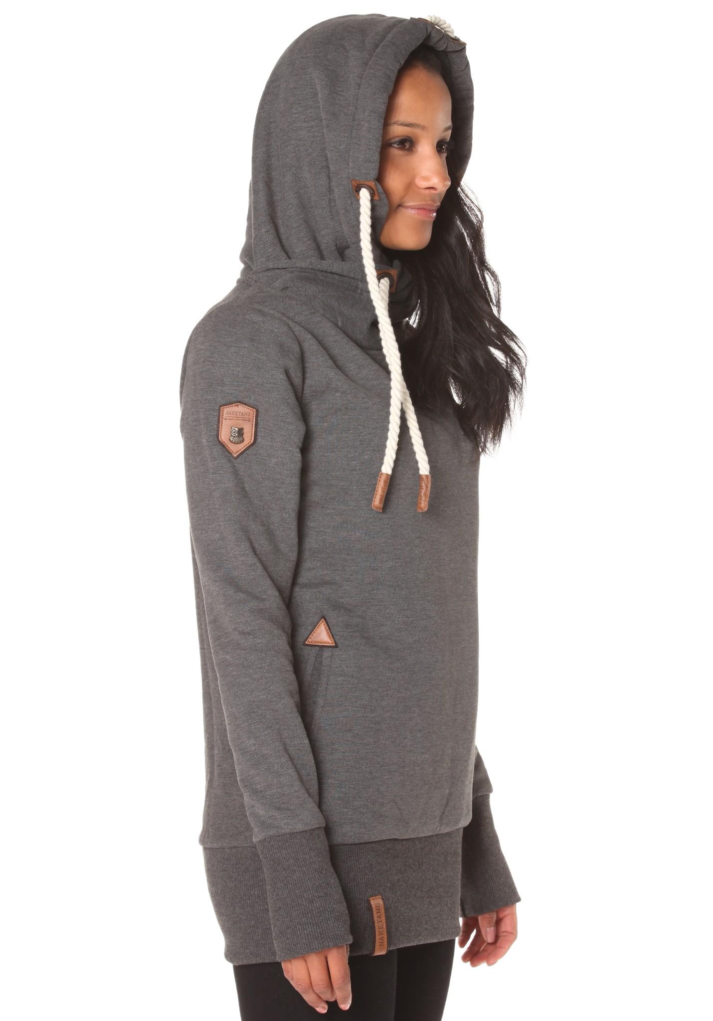 neu naketano darth long vi damen kapuzenpullover pullover hoodie kapuzenjacke ebay. Black Bedroom Furniture Sets. Home Design Ideas