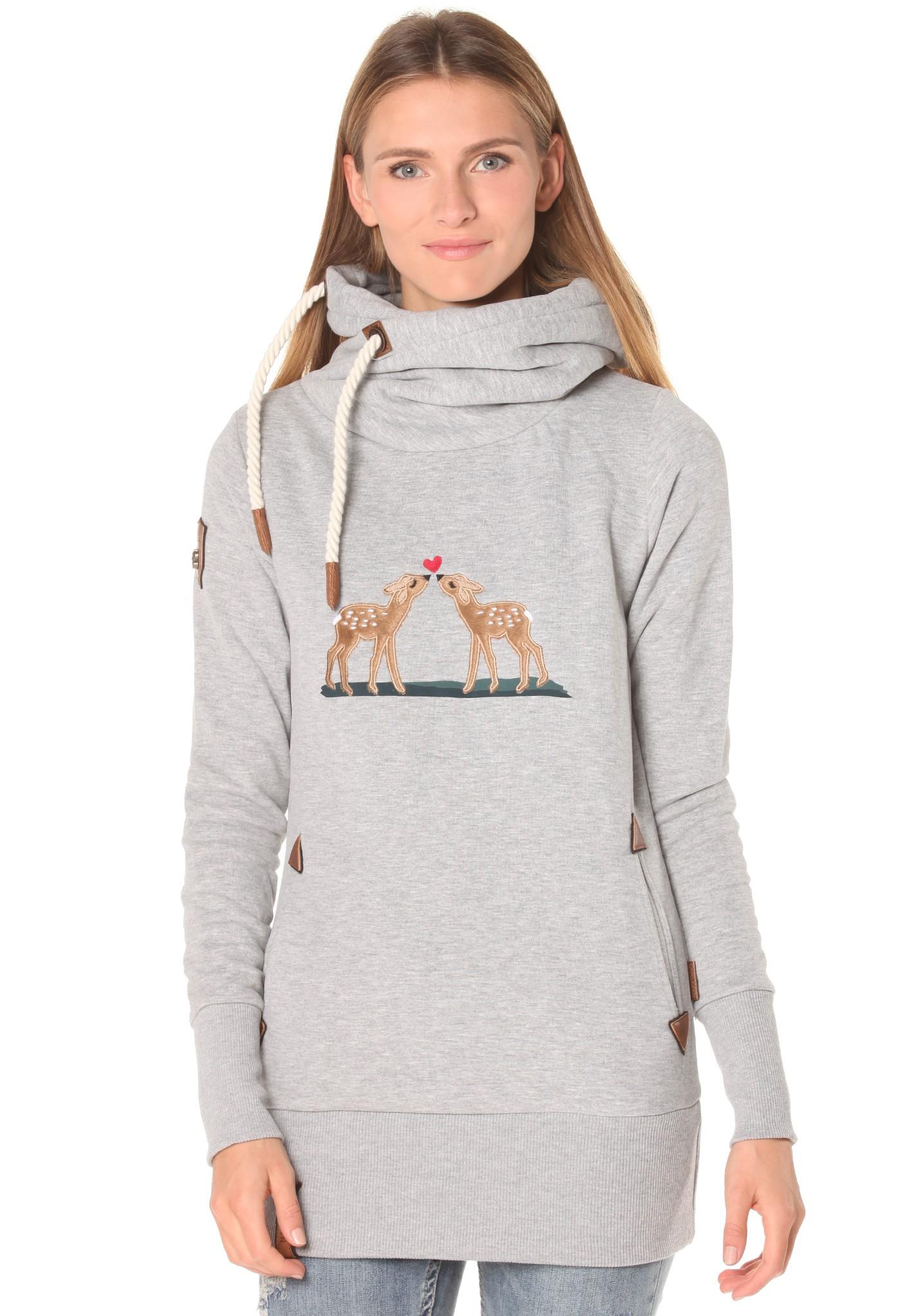 neu naketano frotzelinchen xxi damen kapuzenpullover pullover hoodie ebay. Black Bedroom Furniture Sets. Home Design Ideas