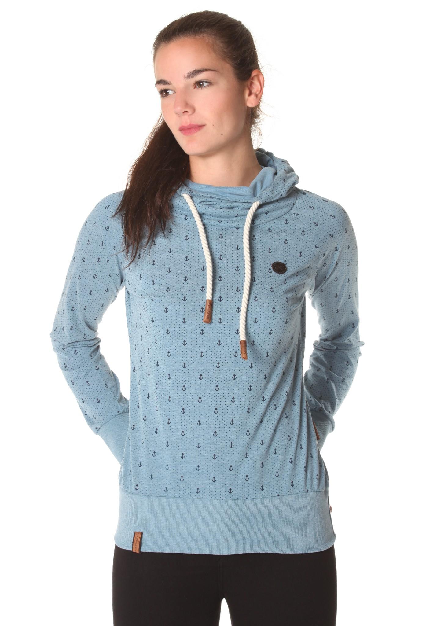 neu naketano mandy ankerdizzel damen kapuzenpullover pullover hoodie ebay. Black Bedroom Furniture Sets. Home Design Ideas