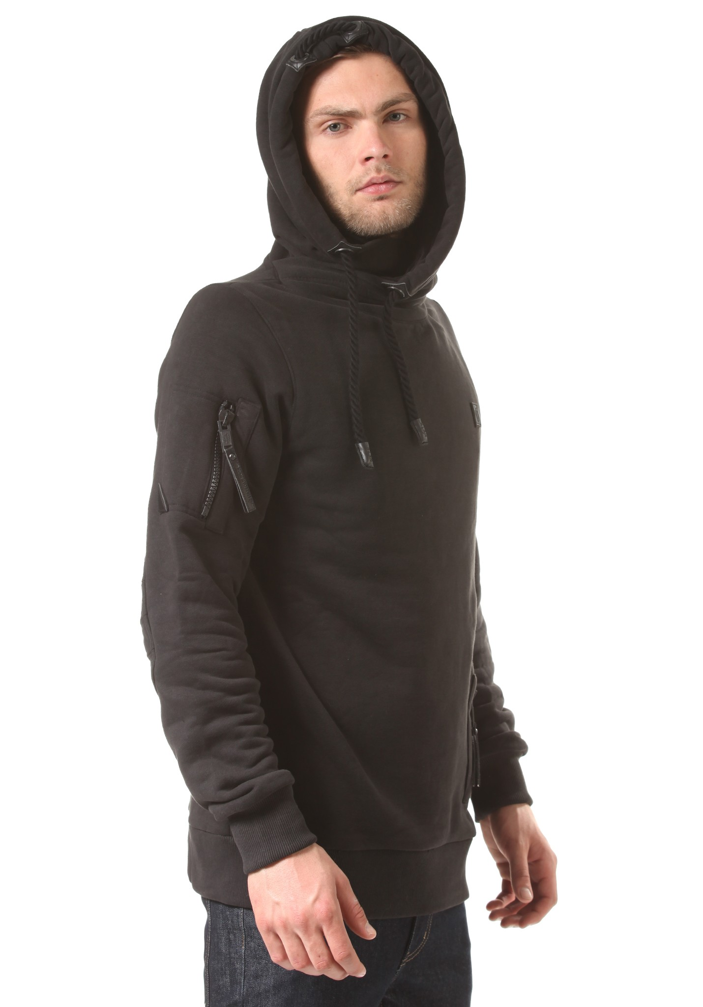 neu naketano pimp herren kapuzenpullover pullover hoodie kapuzenjacke ebay. Black Bedroom Furniture Sets. Home Design Ideas