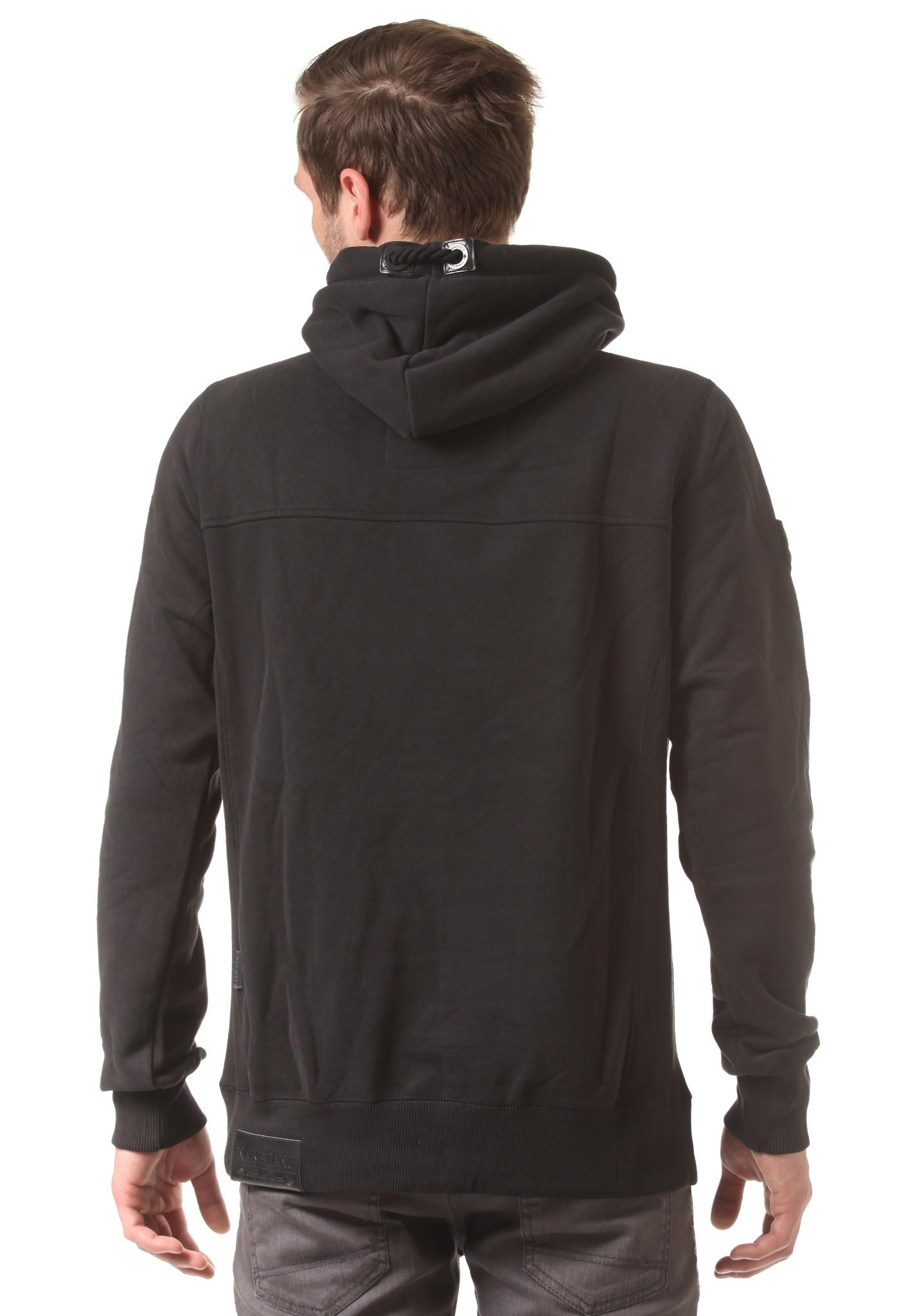 neu naketano pommes im weltall herren kapuzenpullover pullover hoodie ebay. Black Bedroom Furniture Sets. Home Design Ideas