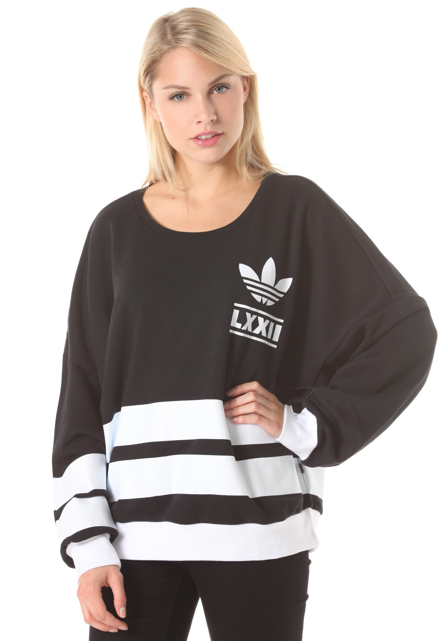 neu adidas brln 3str damen sweatshirt. Black Bedroom Furniture Sets. Home Design Ideas