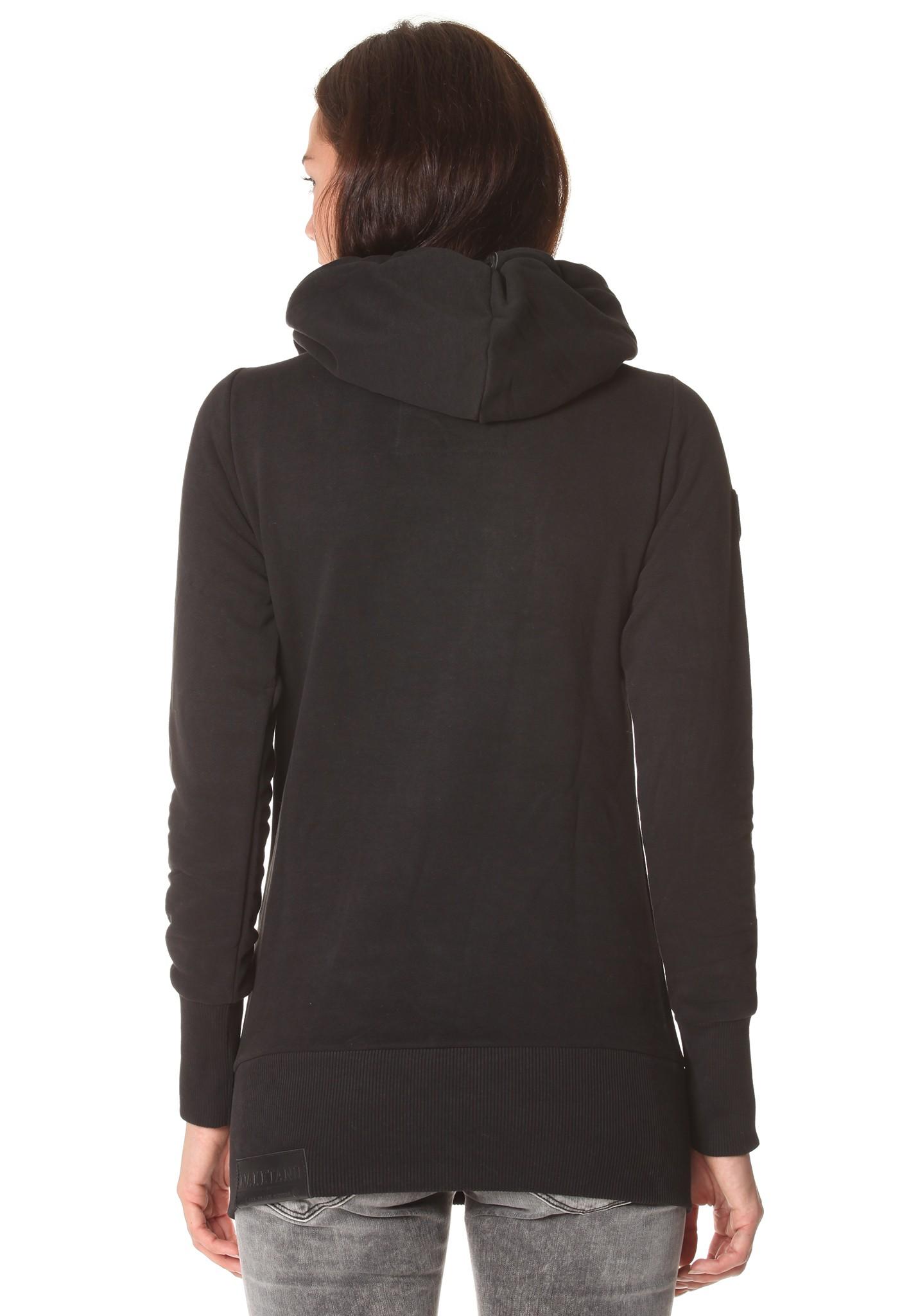 neu naketano darth long damen kapuzenpullover pullover hoodie kapuzenjacke ebay. Black Bedroom Furniture Sets. Home Design Ideas