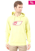 55DSL Flogo  Hooded Sweat sour lemon