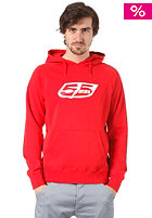 55DSL Flogo  Hooded Sweat tokio red