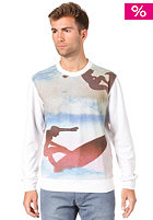 55DSL Focalism  Sweatshirt off white with allover print