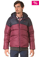 55DSL Javanellinew Jacket blackberry red / deep blue