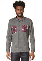 55DSL Stockton MB L/S Shirt salt and pepper