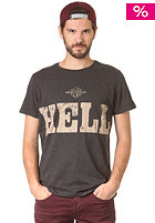 55DSL The Hell S/S T-Shirt grey melange