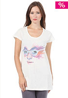 55DSL Womens 10.55 Limited Marion Bolognesi S/S T-Shirt snow white