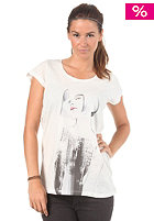 55DSL Womens 10.55 Limited Sandra Suy S/S T-Shirt snow white
