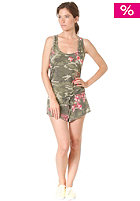 55DSL Womens Damanda Jumpsuit camou allover printed