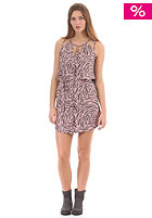 55DSL Womens Deoje Dress feather allover print