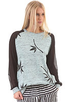 55DSL Womens Faglan Sweat grey melange/black bicolored/bamboo print
