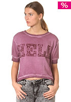 55DSL Womens Fernley Sweatshirt blackberry cold dyed