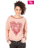 55DSL Womens Frossa  Sweat mid pink melange