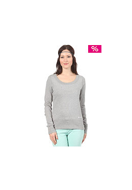 55DSL Womens Full Bling Sweatshirt dark grey