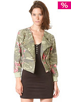 55DSL Womens Junglar Jacket camou allover printed