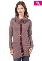 55DSL Womens Kinetics Woolsweat grey red striped