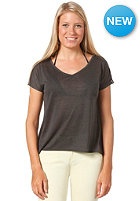 55DSL Womens Tafatt Top dark grey melange