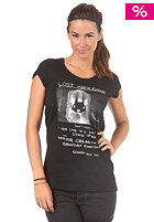 55DSL Womens Tinnocence S/S T-Shirt jet black