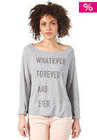 55DSL Womens Tjalla  Longsleeve light grey melange