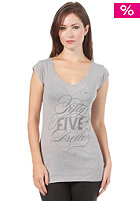 55DSL Womens Truly-Me S/S T-Shirt off grey