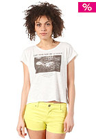 55DSL Womens Tyher  S/S T-Shirt off white