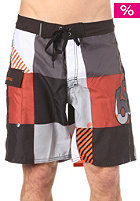 686 Cube Boardshort orange