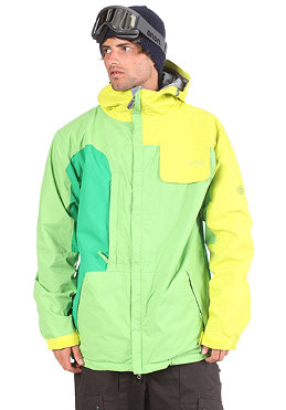 686 Mannual Season Jacket kiwi colorblock