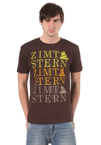 ZIMTSTERN Roless S/S T-Shirt brown