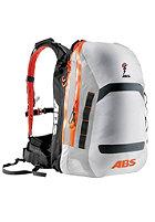 ABS Powder Zip-On 15 L Packsack white/orange