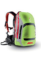 ABS Powder Zip-On 15 Packsack green/red