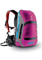ABS Powder Zip-On 15 Packsack raspberry/blue